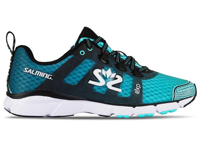 Salming enRoute 2 Hardloopschoenen Dames blauw/zwart
